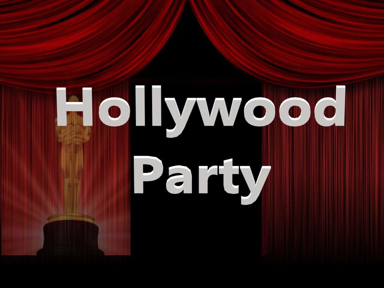Как организовать голливудскую вечеринку