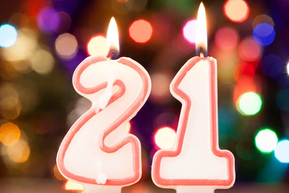 21 год день рождения