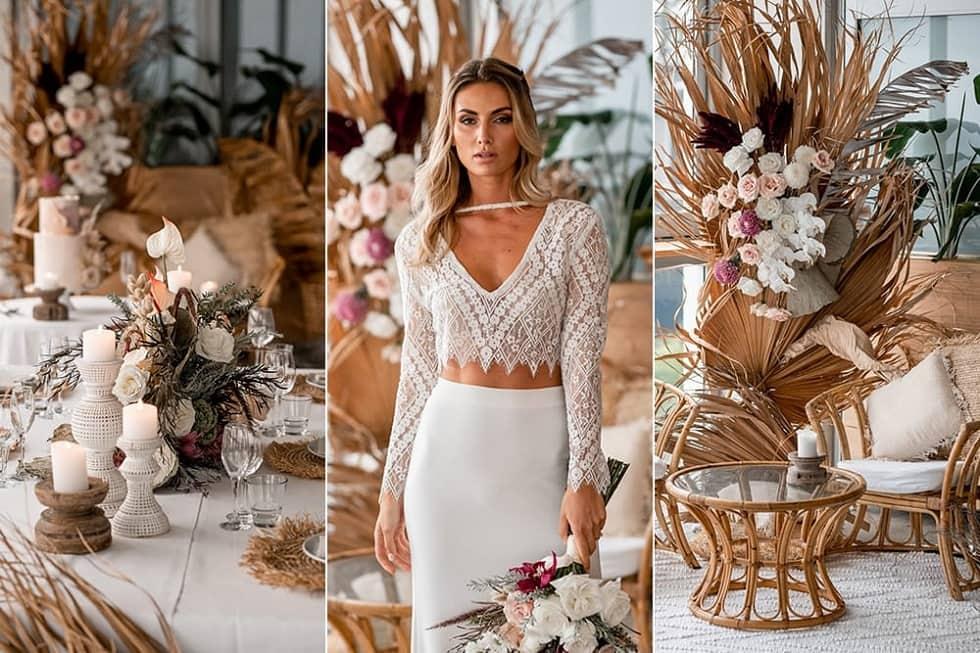 весілля в стилі бохо