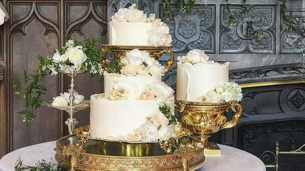Свадебный торт Меган Маркл и принца Гарри