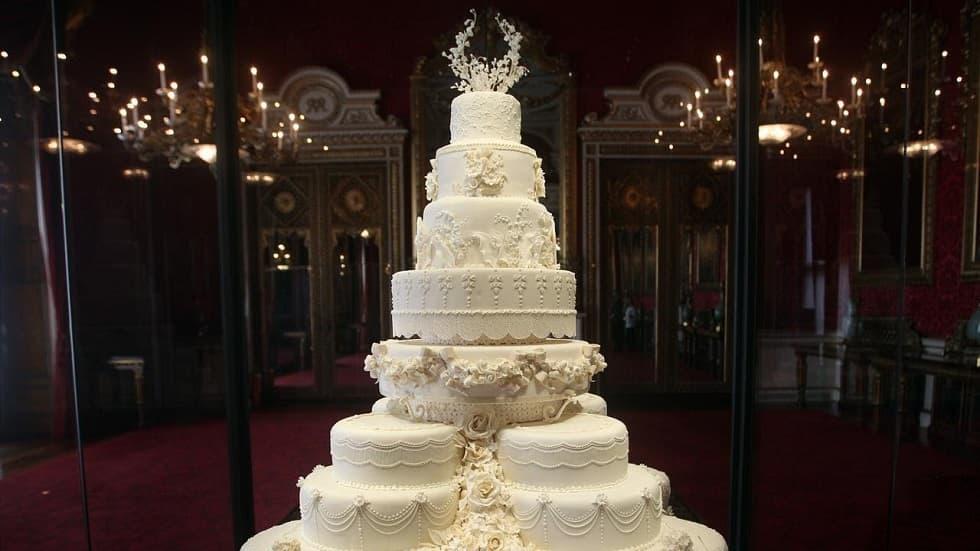 Меган Маркл и принц Гарри свадебный торт